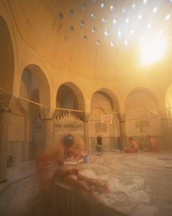 ハマーム アラブ式風呂  イスタンブール トルコの写真素材 [FYI03858682]