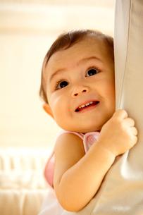 ハーフの赤ちゃんの写真素材 [FYI03859035]