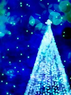 クリスマスツリーのイラスト素材 [FYI03859353]