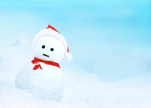 雪だるまのサンタクロースの写真素材 [FYI03859354]