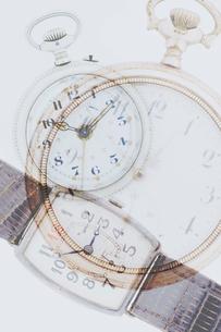 三つの時計の写真素材 [FYI03859424]