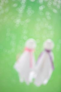 てるてる坊主と雨の写真素材 [FYI03859531]