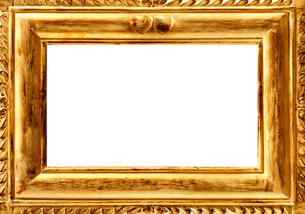 金色の額縁の写真素材 [FYI03859549]