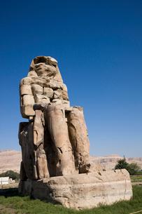 メムノンの巨像の写真素材 [FYI03859775]