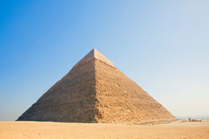 カフラー王のピラミッドの写真素材 [FYI03859808]