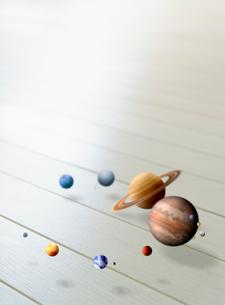 太陽系 CGのイラスト素材 [FYI03859856]