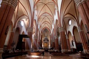 サンペトロニオ聖堂の礼拝堂の写真素材 [FYI03860296]