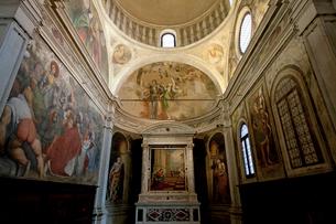 大聖堂の礼拝堂の写真素材 [FYI03860327]