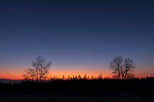 魅惑の日の出前の写真素材 [FYI03860727]