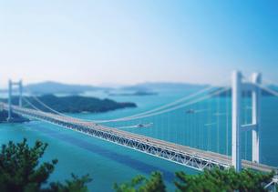 瀬戸大橋の写真素材 [FYI03860896]