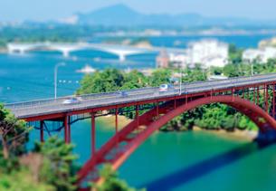 天草五橋の写真素材 [FYI03860900]