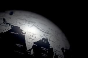 地球儀 インドの写真素材 [FYI03860905]