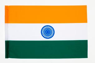 インド国旗の写真素材 [FYI03860911]