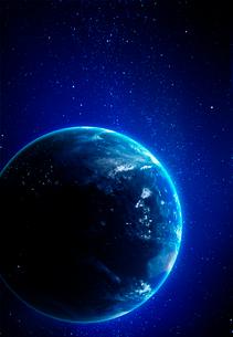 地球の写真素材 [FYI03861016]