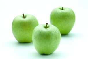 青りんご「王林」の写真素材 [FYI03862074]