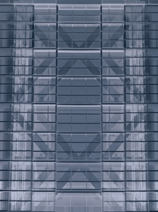 左右対称の建物 CGの写真素材 [FYI03862314]