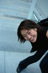 笑顔の日本人女性の写真素材 [FYI03862623]