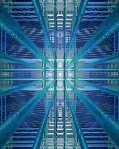 エレクトロニクスとネットワークイメージのイラスト素材 [FYI03862839]