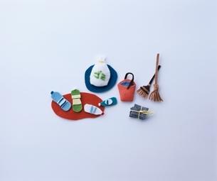 ミニチュアのリサイクル クラフトの写真素材 [FYI03863961]