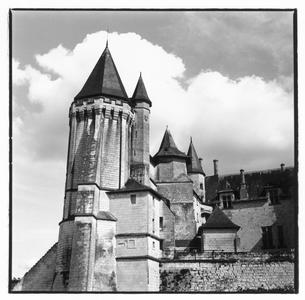 ロワール地方にある城の外観 トゥール フランスの写真素材 [FYI03867667]