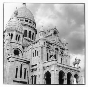 モンマルトル寺院の外観 パリ フランスの写真素材 [FYI03867669]