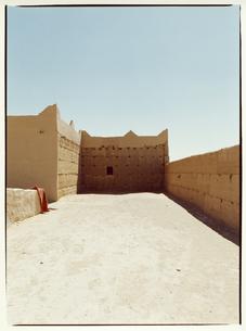 建物の壁 メルズーガ モロッコの写真素材 [FYI03867719]