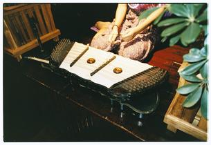 民族楽器 バンコク タイの写真素材 [FYI03867734]