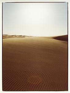 サハラ砂漠の風紋 モロッコの写真素材 [FYI03867748]