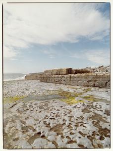 海岸の岩 イニシューマン島 アイルランドの写真素材 [FYI03867761]