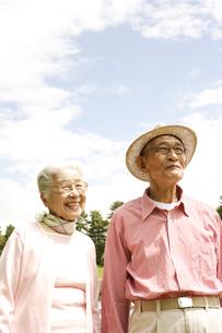 日本人のシニア夫婦の写真素材 [FYI03869105]