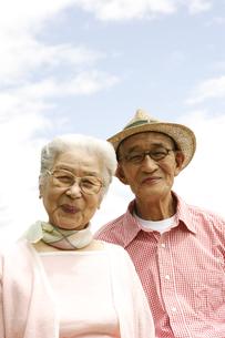 日本人のシニア夫婦の写真素材 [FYI03869108]