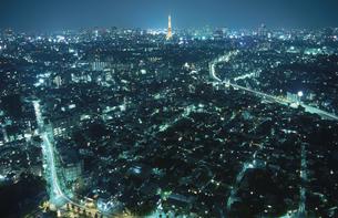 都内の夜景の写真素材 [FYI03869506]