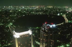 都内の夜景の写真素材 [FYI03869507]