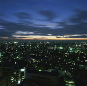 都内の夜景の写真素材 [FYI03869529]