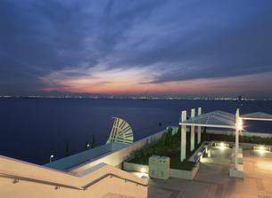海ほたるから川崎を望む夜景の写真素材 [FYI03870124]