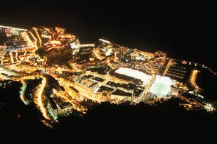 モナコの夜景の写真素材 [FYI03870278]