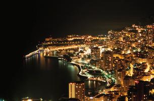 モナコの海岸線の写真素材 [FYI03870282]