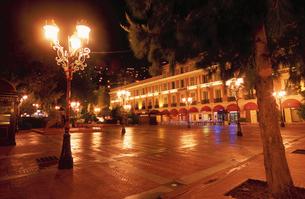 モンテカルロの街並の写真素材 [FYI03870296]