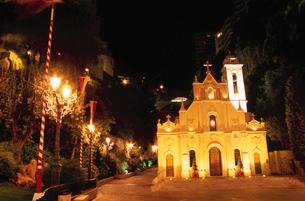 モンテカルロの街並の写真素材 [FYI03870297]