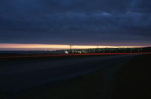 ジェフリーズベイの夜景の写真素材 [FYI03870575]