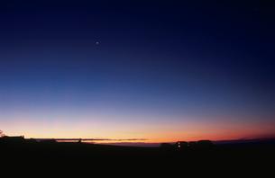ラグランの夕暮れの写真素材 [FYI03870596]