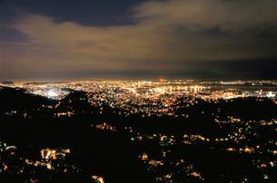 ドナ・マルタ展望台から見た夜景の写真素材 [FYI03870769]