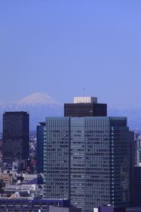勝どき付近より富士山を望むの写真素材 [FYI03871039]