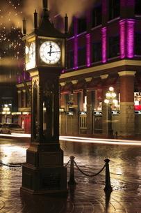 ギャスタウンの蒸気時計の写真素材 [FYI03871254]
