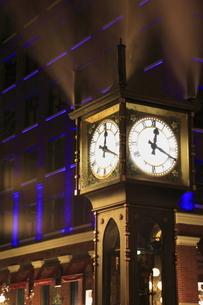 ギャスタウンの蒸気時計の写真素材 [FYI03871257]