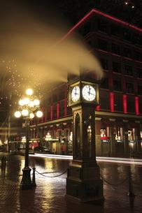 ギャスタウンの蒸気時計の写真素材 [FYI03871259]