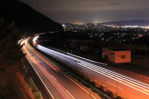 新居浜市の夜景の写真素材 [FYI03871477]