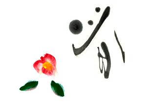 春と椿のイラスト素材 [FYI03871614]