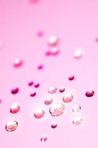淡いピンクのラインストーンのイラスト素材 [FYI03871834]
