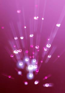 発光するラインストーンのイラスト素材 [FYI03871835]